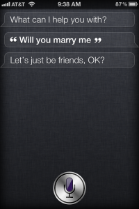siri marry me